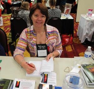 Susan Rae at Spring Fling 2014 Book Signing